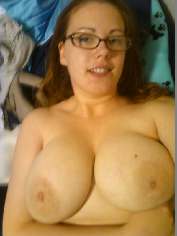 image Redhead fat chubby ex gf with big tits sucking cock