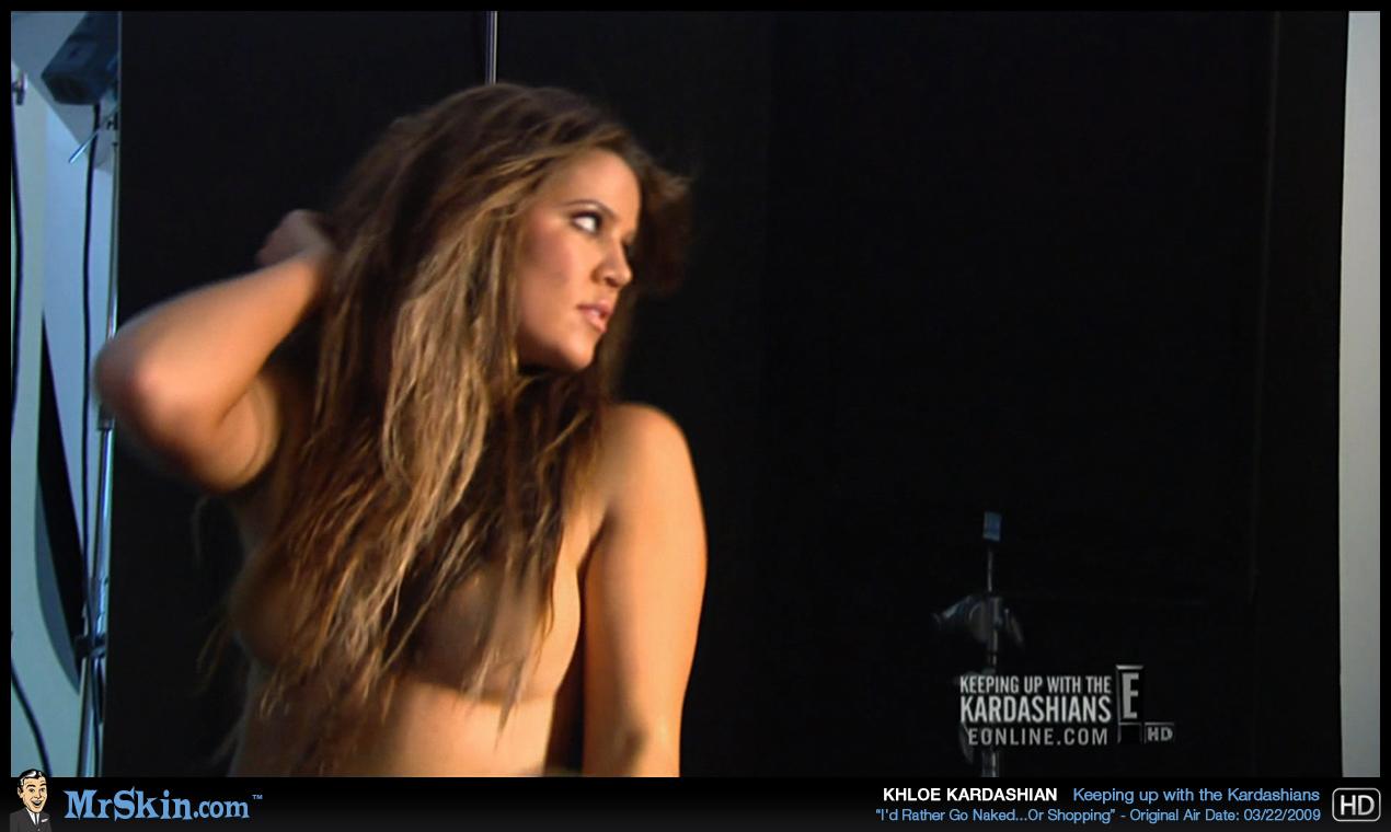 cloe kardashian nude